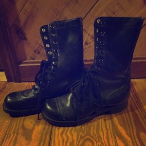 Authentic Military Combat Boots 1959